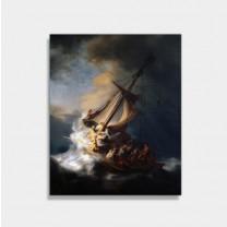 갈릴리호수의폭풍